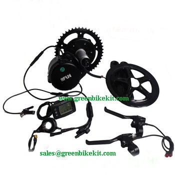 Bafang 8fun Bafun 48v 500w Mid Crank Driving Kit For Electric