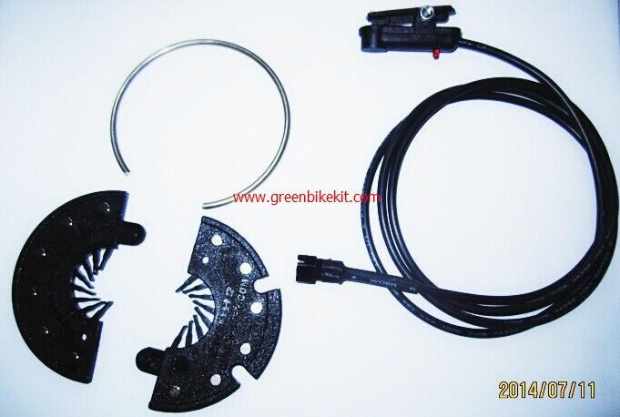 Hall sensor ebike