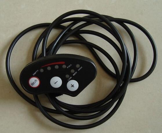 bike parts led meter display for electric bicycle 24v and 36v led display led meter 24v 36v