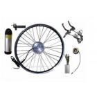 GBK-100CST cassette freewheel motor kit with 36V bottle shape battery