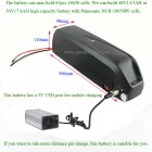 48V high capacity E-bike down tube battery HL-2 with 5V USB port