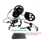 bafang bbs01B 36V350W kit with 36V frame battery and 5V USB output