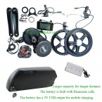 8FUN BBS02 kit and 48V high capacity new style frame battery with 5V USB output