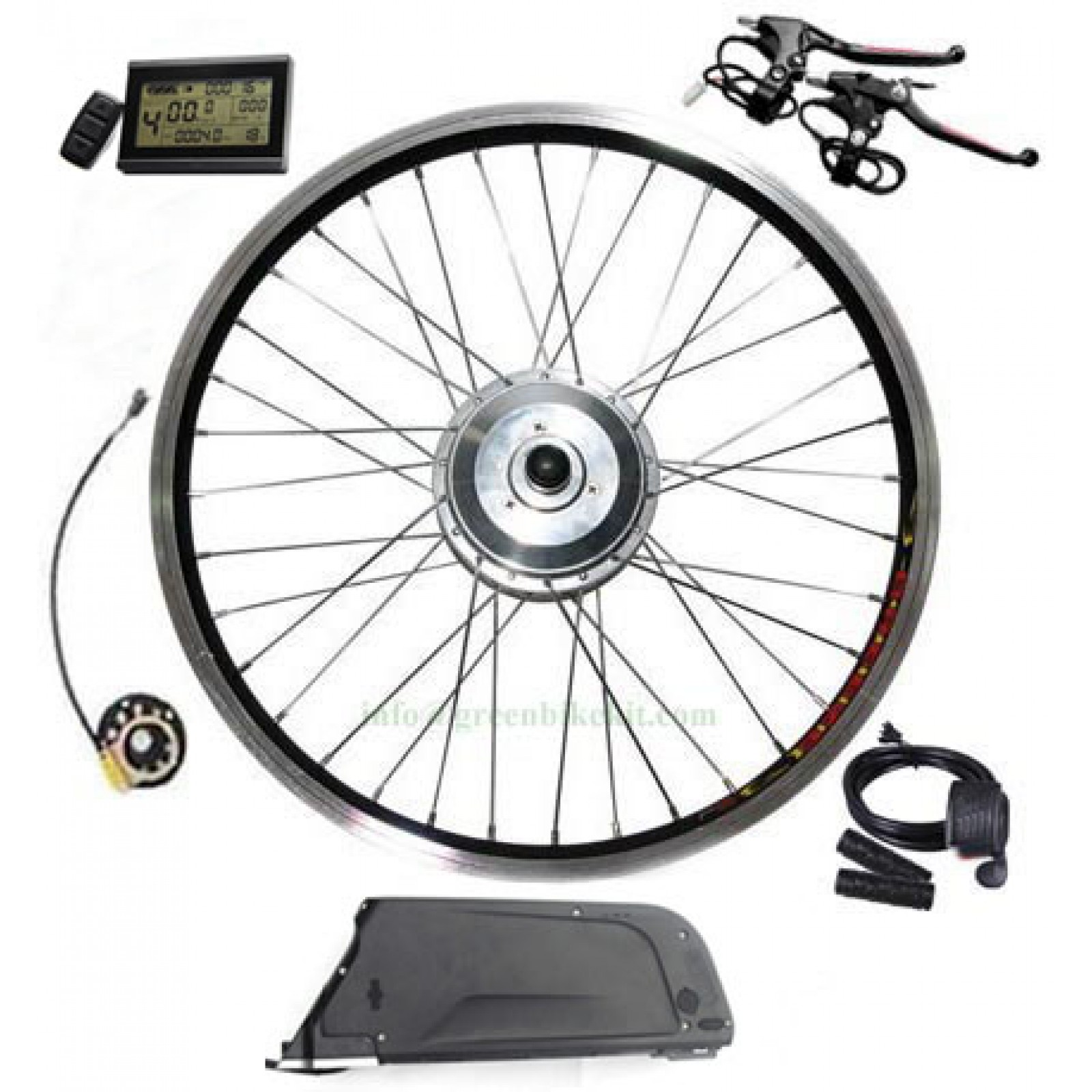 Ebike Conversion Kit Electric Bicycle MTB Wheel  PAS 36V 250W Pedal With Battery