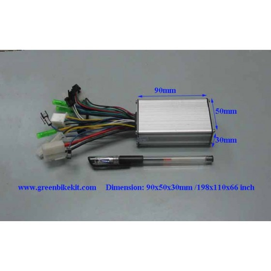 Brushless-controller-36v-250watts-6mosfets-for-bldc-hub-motors