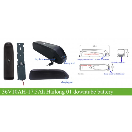36V-17AH-Hailong-01-downtube-battery-for-e-bike