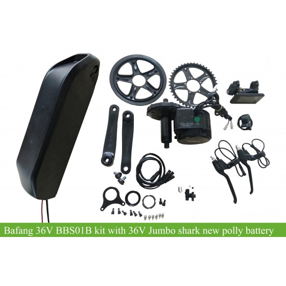 36v-bbs01b-250w-350w-kit-with-jumbo-shark-new-polly-frame-battery