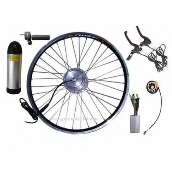 36v-250w-rear-driving-bldc-hub-motor-e-bike-kit-with-lithium-bottle-battery