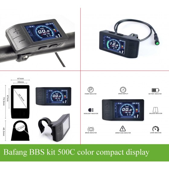Bafang-bbs-500C-color-smart-mini-display