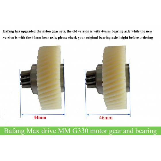 bafang-max-drive-M400-MM-G330-nylon-gear-set-with-bearing-replacement