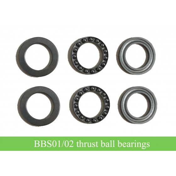 8FUN-Bafang-bbs01-bbs02-kit-lock-nut-thrust-ball-bearing-washers-for-repair
