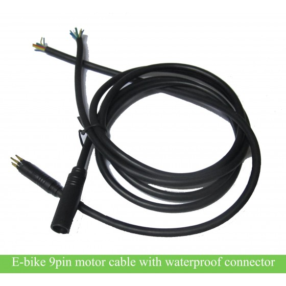 e-bike-9-pin-motor-core-with-waterproof-connector