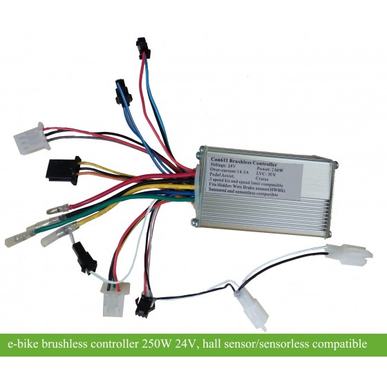 24v-220watts-6mosfets-motor-controllers-for-e-bikes