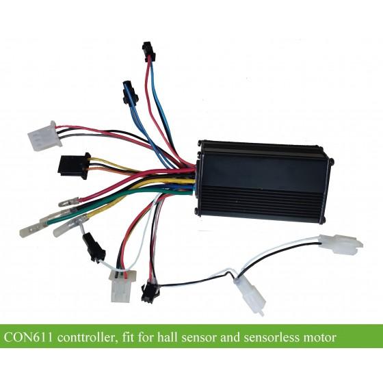 e-bike-controller-CON611-fit-forsensorless-sensored-hub-motor