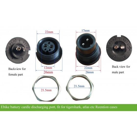 e-bike-downtube-reention-tigershark-atlas-battery-cradle-connector-plug