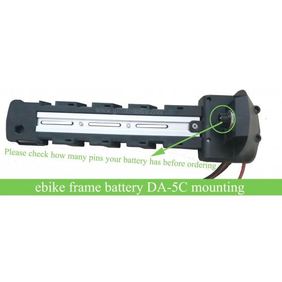 ebike-frame-down-tube-shark-battery-mounting-base-fixing-plate