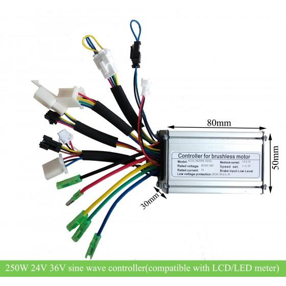 kt-36v-24v-250w-sine-wave-e-bike-controller