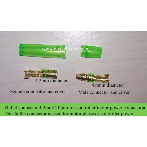 ebike-motor-phase-connector-brushless-controller-power-plug-bullet-connector-with-cover