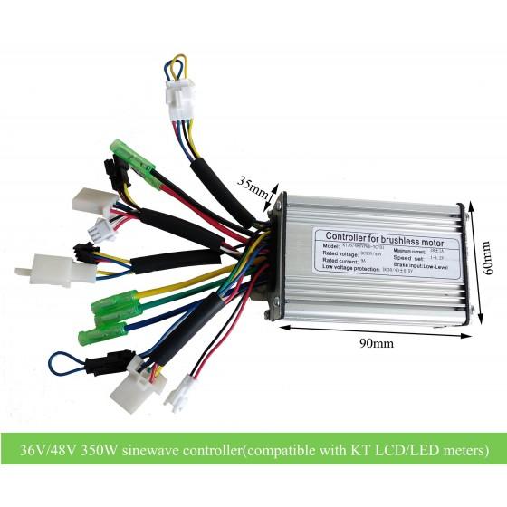 KT-36V-48V-350W-Sinewave-controller-compatible-with-kt-led-lcd-display
