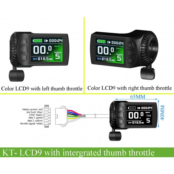 KT-LCD9R-color-display-with-intergrated-thumb-accelerator