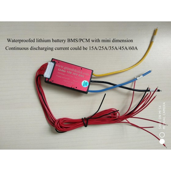 waterproofed-36v-10s-pcm-bms-for-e-bike