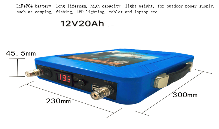 12v-quiet-portable-power-supply-264wh-for-camping-fishing-led-lighting