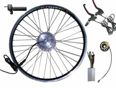 24v250w Front Driving Hub Motor Kit For Electric Bicycle