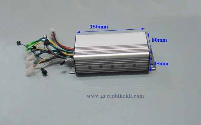 E Bike High Speed Brushless Controller 36v And 48v