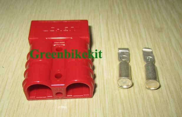 Double poles connector, 50A/175A