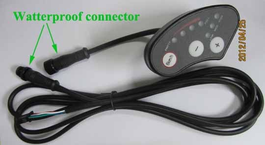 Ku123 y LCD Led-meter-for-electric-bike