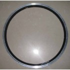 Double walled aluminum alloy rim, CNC side