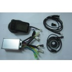CON63 square wave controller with LCD meter for electric bike