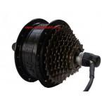 Bafang SWXH 36V 250W hub motor in black color