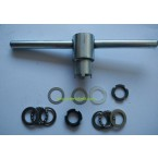 Bafang bbs01 bbs02 kit clutch replacement tools/washer/lock nuts and ball bearing