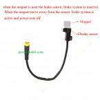 Bafang bbs01/bbs02 kit hydraulic brake sensor