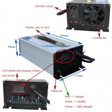 1200W 12V50A battery charger