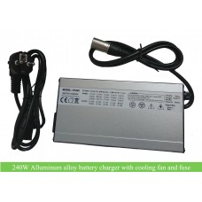 240W alloy charger for 12V 24V 36V 48V 52V 60V battery