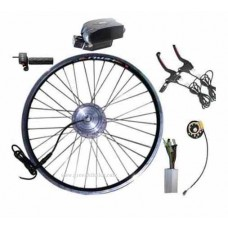 GBK-100F 36V250W~350W front electric bike kit including 36V li-ion frog battery and charger