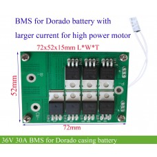 36V 30A BMS with mini size for ebike battery