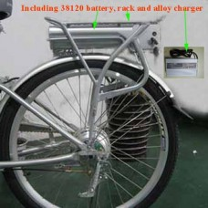 36V10AH 38120 headway Battery with e-bike carrier