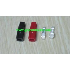 Single pole connector, 15A, 45A single pole plug