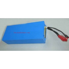 48V15AH lithium ion shrink tube battery