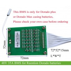 48V 35A BMS with small size for Reention Dorado batteries(suitable for 1000W-1800W motors)