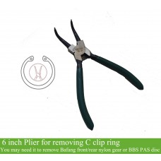Plier for C clip ring