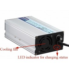 600W alloy shell battery charger for golfcar/petrol/seesighting car/electric motorcycle/car battery