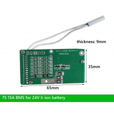 7S BMS for 24V Li-ion e bike battery with small size