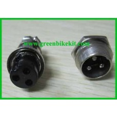 Air plug, 3 pin/ 4 pin for option
