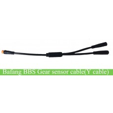 Bafang BBS 1T2 Y cable for shift sensor leading out from brake connection