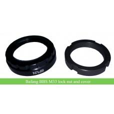 Bafang central driven bbs01/BBS02/BBSHD kit M33 lock nut/cover