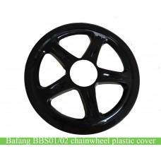 Bafang mid crank driving motor kit bbs01/bbs02 chainwheel cover
